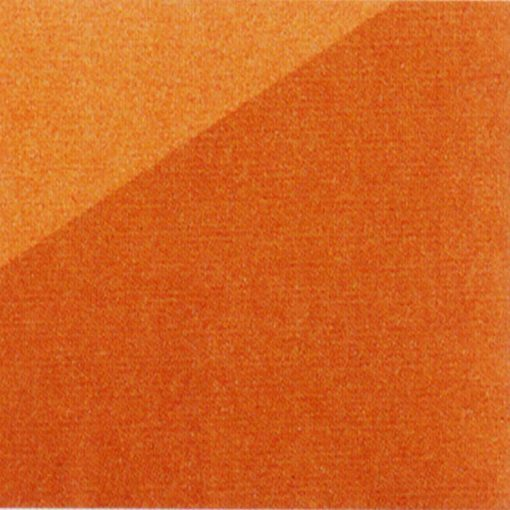 Trapunta in microfibra Modern di Caleffi arancio