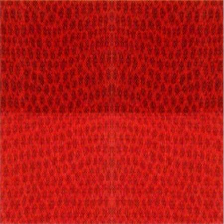 Trapunta rosso in cotone Chromo di Gabel 693