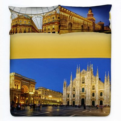 Completo lenzuola copriletto Milano di Gabel