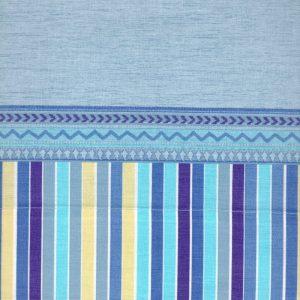 Completo lenzuola Samantha di Caleffi azzurro