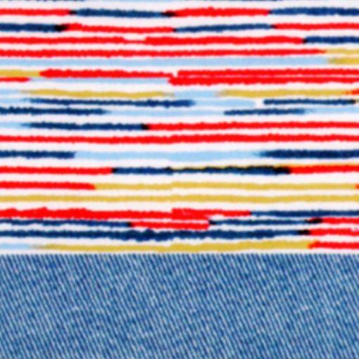 Completo lenzuola matrimoniali Fun di Imberti multicolor