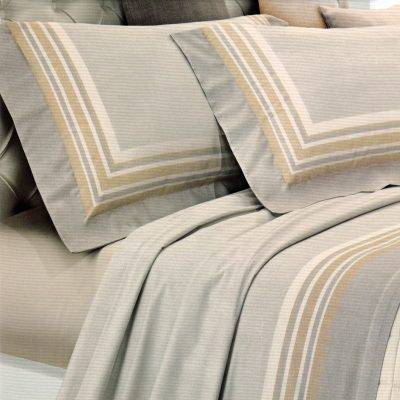 Completo lenzuola matrimoniali Lino di Manifattura Imberti