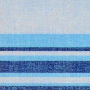 Completo lenzuola matrimoniali Lino di Manifattura Imberti azzurro