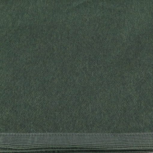 Coperta Singola in lana di Somma verde