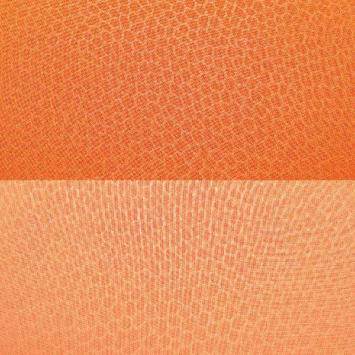 Copriletto piazza e mezza leggero trapuntato double-face arancio M5