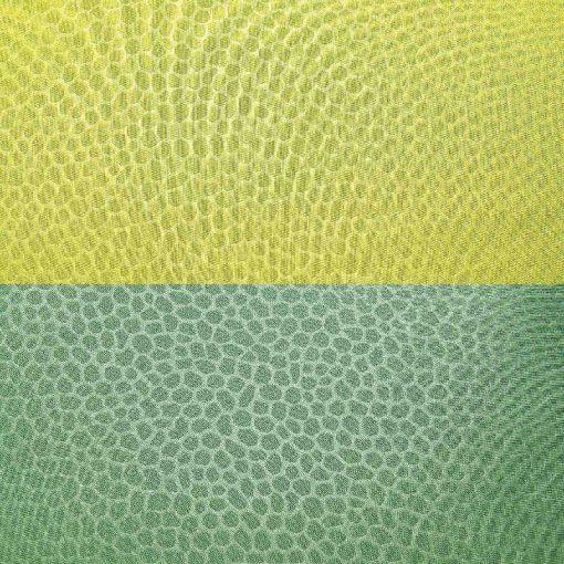 Copriletto singolo leggero trapuntato double-face verde M6