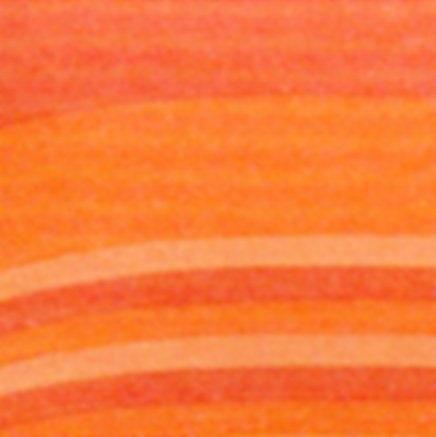 Telo arredo Copritutto rigato Kiara di FG arancio