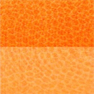Trapunta arancio in microfibra double face Indicolor di Biancaluna M5