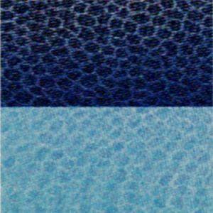 Trapunta blu in microfibra double face Indicolor di Biancaluna M2