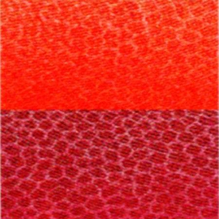 Trapunta rossa in microfibra double face Indicolor di Biancaluna M8