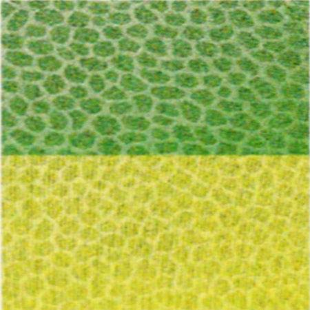 Trapunta verde in microfibra double face Indicolor di Biancaluna M6