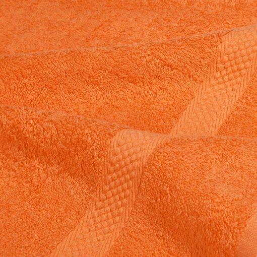 Asciugamano in tinta unita Minorca arancio