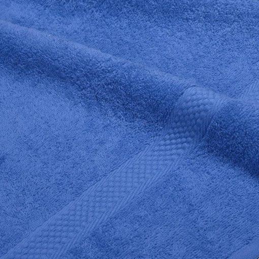 Asciugamano in tinta unita Minorca blu