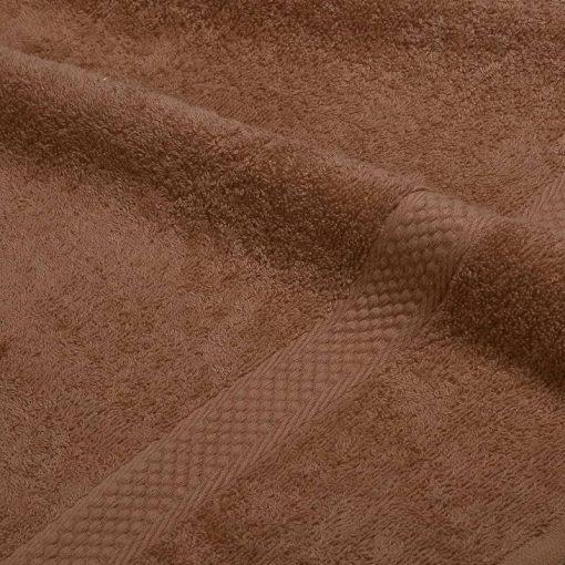Asciugamano in tinta unita Minorca caffè