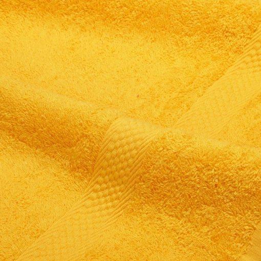 Asciugamano in tinta unita Minorca giallo sole