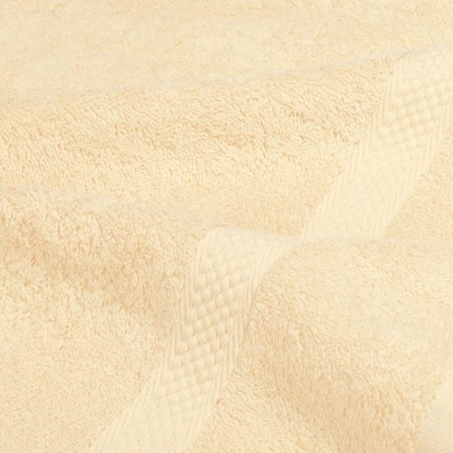 Asciugamano in tinta unita Minorca vaniglia