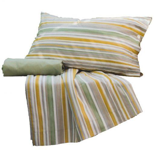 Lenzuola Piazza e Mezza in cotone Rio - Completo lenzuola