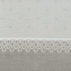 Lenzuola matrimoniali in flanella Venezia - Completo letto grigio