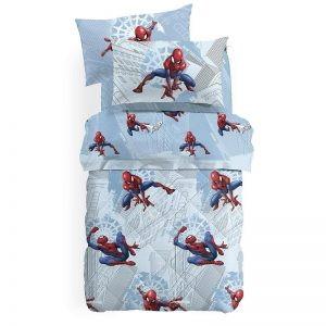 Trapunta Spider Man Manhattan in cotone