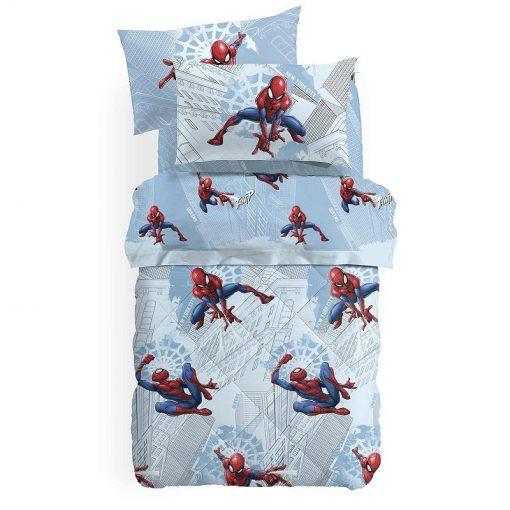 Trapunta Spider Man Manhattan in cotone