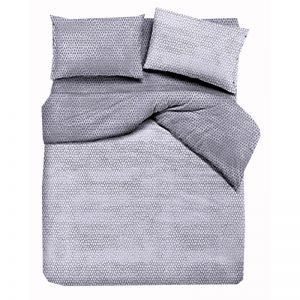 Completo lenzuola matrimoniali in cotone Bon Bon di Quadrifoglio