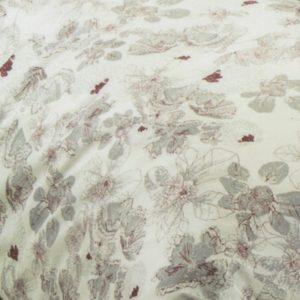 Copripiumino matrimoniale Soft Grey in cotone - particolare