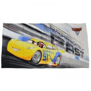 Asciugamano Cars Cruz Ramirez in cotone 73 x 140 della serie Cars