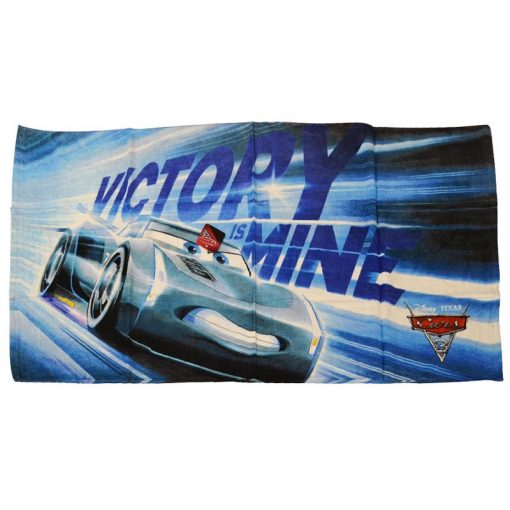 Asciugamano Cars Jackson Storm in cotone 73 x 140 della serie Cars