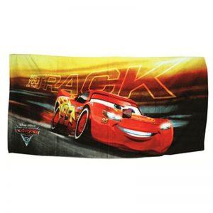 Asciugamano Cars Lightning McQueen in cotone 73 x 140 della serie Cars
