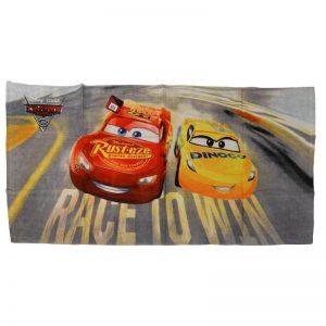 Asciugamano Cars Race to Win in cotone 73 x 140 della serie Cars