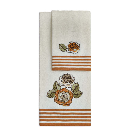 Asciugamani Malta di Vingi arancio