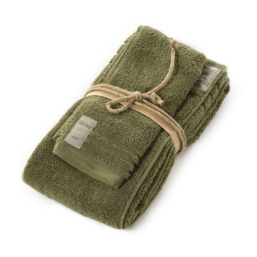 Asciugamani in spugna Coccola di Fazzini cactus