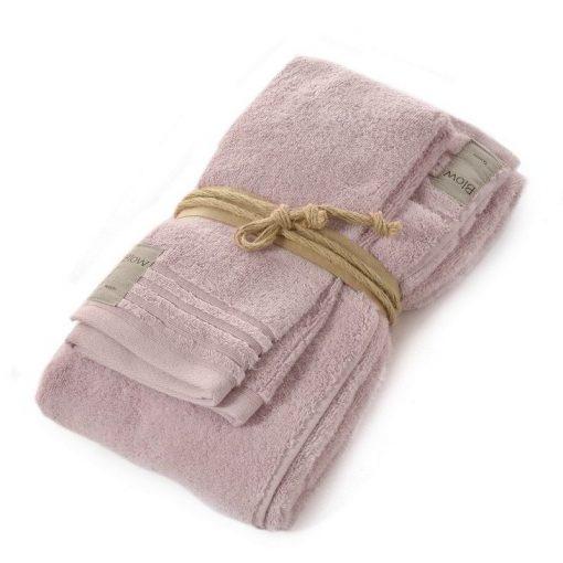 Asciugamano Fazzini viso e ospite quarzo