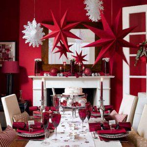 come decorare il salotto per capodanno
