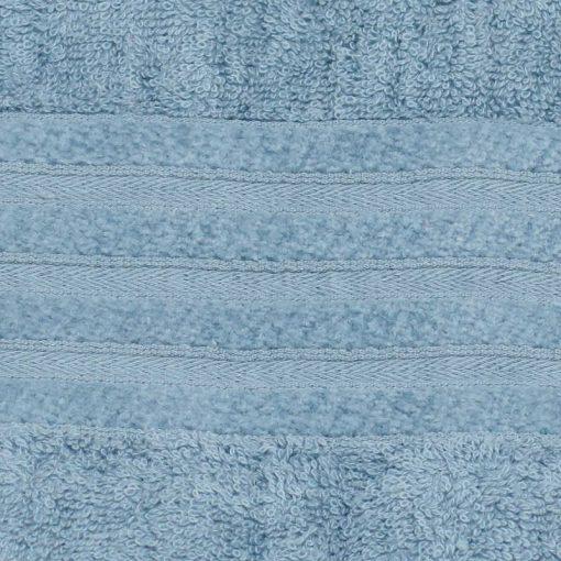Asciugamani in spugna economici variante 3 celeste