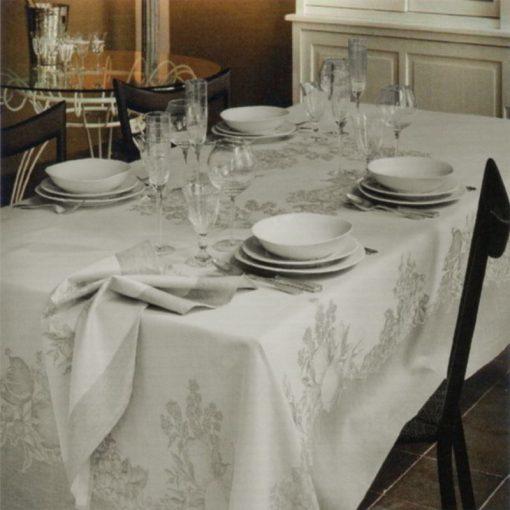 Servizio da tavola grigio elegante 8 posti Caravaggio
