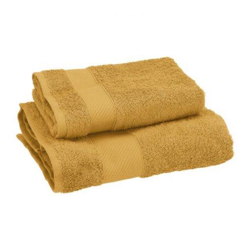 Asciugamano Gabel viso e ospite in spugna Flan