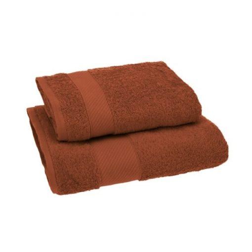 Asciugamano Gabel viso e ospite in spugna Ruggine