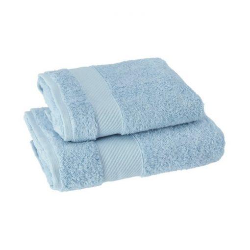 Asciugamano Gabel viso e ospite in spugna Soffio