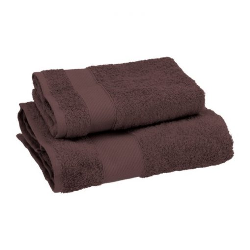Asciugamano Gabel viso e ospite in spugna Vino