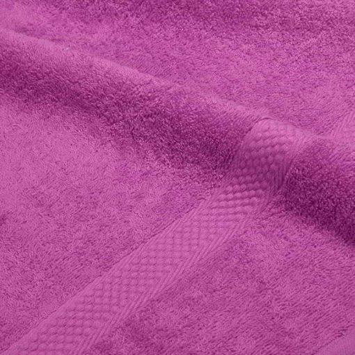 Asciugamano in tinta unita Minorca azalea