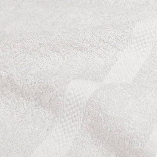 Asciugamano in tinta unita Minorca bianco