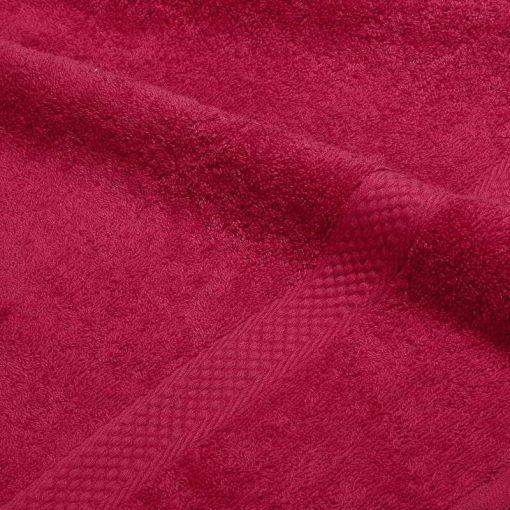 Asciugamano in tinta unita Minorca bordeaux