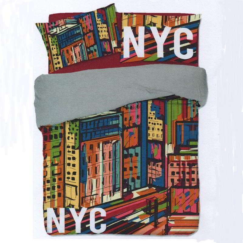 Copripiumino Singolo Ragazzi.Copripiumino New York City Singolo Biancheriaok It