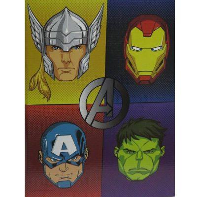 Plaid Avengers bambino flanellato