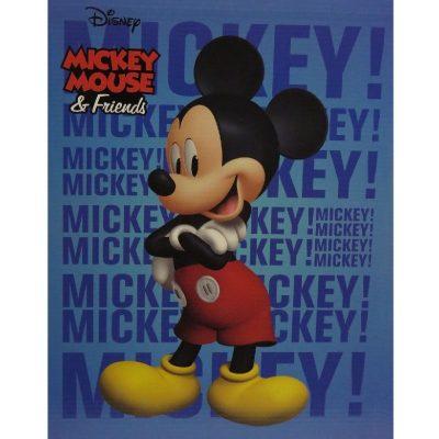 Plaid Topolino Disney flanellato